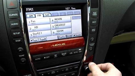 lexus es350 radio stations