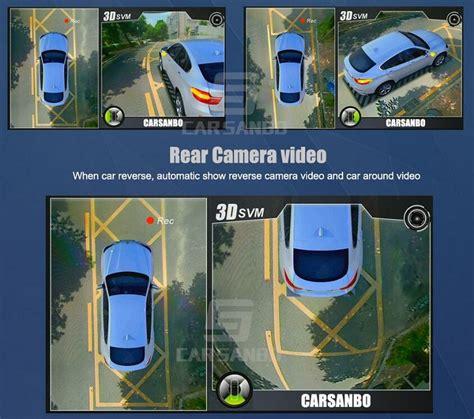p  degree  view car camera system dv