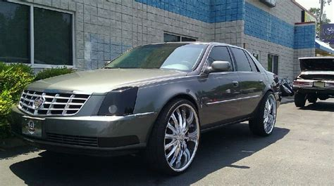 cadillac dts rims on 24s 2010 cadillac dts on 26 quot rims caddy