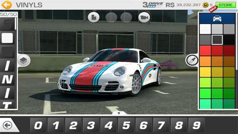 Car Customizer Real by Real Racing 3 Tuning Porsche 911 2009 Alternative