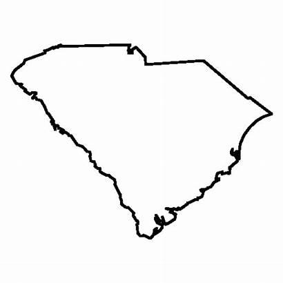 Carolina South State Silhouette North Clipart Clip