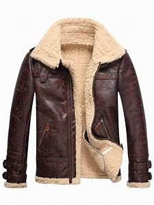 Ericdress Faux Shearling Thicken Warm Men's Fur Coat ...