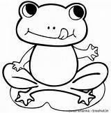 Frog Coloring Printable Frogs Cartoon Sheet Sheets Colorare Frosch Disegni Tiere Ausmalbilder Drucken Malvorlagen Children Everfreecoloring Toad Female Froglet Tail sketch template