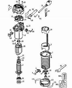 Dewalt Dwp611 Type1 Router Parts