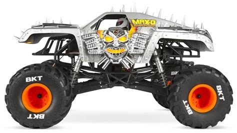 monster jam rc trucks axial 1 10 smt10 max d monster jam truck 4wd electric