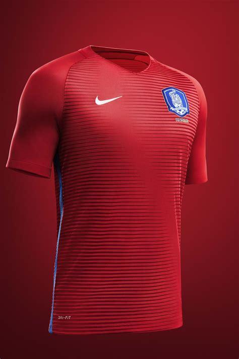 south korea  national football kits nike news
