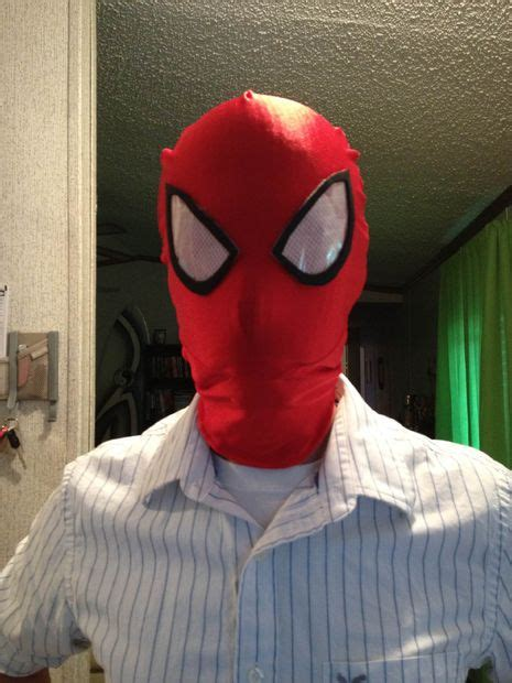 spider man mask lenses