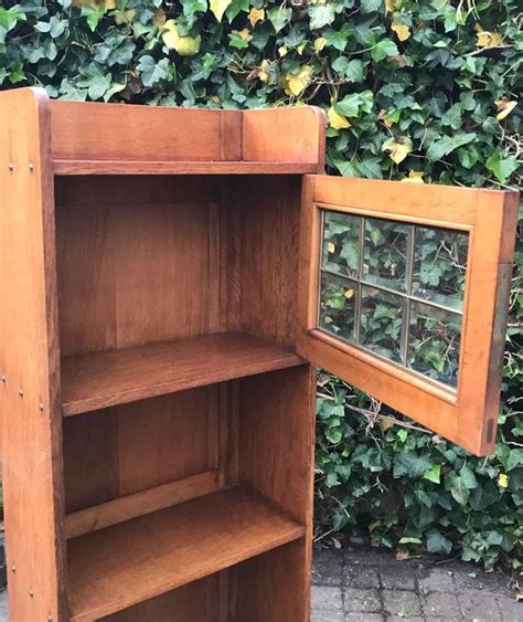 solid oak bookcases in seven sizes practical size solid oak arts and crafts antique bookcase
