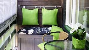 Decorating A Small Apartment Balcony - YouTube
