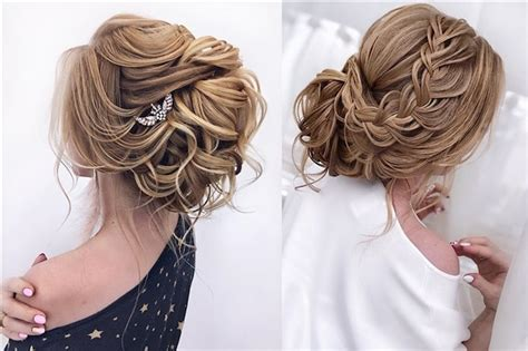 hairstyles wedding formal long prom hair updo bride copy flowers special