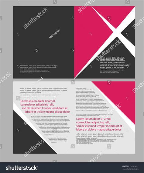Yellow Brochure Design Vector Millions Vectors Brochure Design Stock Vector Illustration 126363092