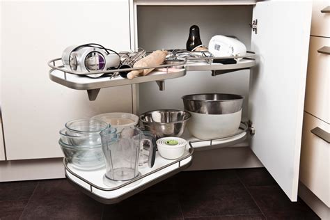 kitchen corner unit storage solutions kitchen accessories storage and lighting 8249