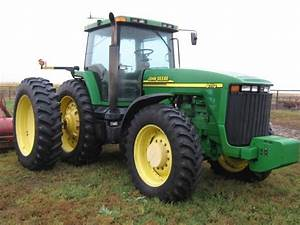 John Deere 8110 8210 8310 And 8410 Tractors Diagnostic
