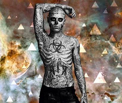 Genest Rick Random Tattoos Fanpop Gaga Monster