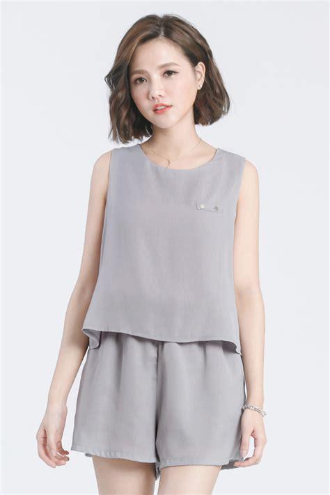 Mayuki Womens Jumpsuit with Crop Top Layer Japanese/Korean Fashion | eBay