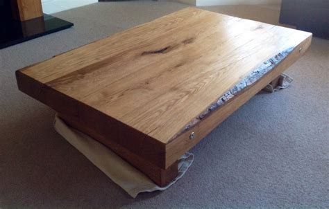 Constructing A Coffee Table From New Oak Railway Sleepers Uplight Lamps Luxo Circus Magnifying Lamp Pair Of Table Dark Blue Floor Design Bird High End