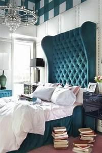 Tete De Lit Bleu : les meilleures variantes de lit capitonn dans 43 images ~ Premium-room.com Idées de Décoration