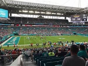 Hard Rock Stadium Seating Chart Hard Rock Stadium Section 249 Row 9 Seat 20 Miami
