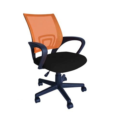 chaise bureau orange chaise de bureau orange magasin en ligne gonser