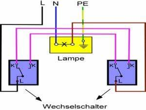 Lichtschalter Mit Kontrollleuchte Schaltplan : anleitung aus wechselschalter anschlie en elektrik ~ Buech-reservation.com Haus und Dekorationen