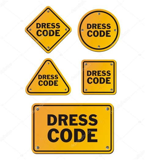 Dress Code Signs — Stock Vector © Yellomello #99066966. Easter Banners. Tonsil Infection Signs. Skin Stickers. The Secret Life Pets Logo. Baggage Claim Signs. Country Stickers. Angrey Stickers. Helicopter Stickers