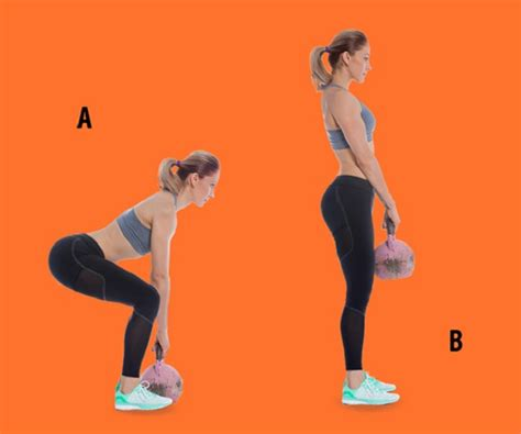 buttocks kettlebell squat bubble shaped exercises ultimate deadlift vnecdn curtsy source depositphotos