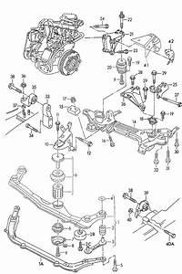 Volkswagen Cabrio  Cabriolet Bonded Rubber Mounting