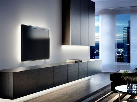 BestÅ Black-brown Wall Cabinet And Tv Bench With Black
