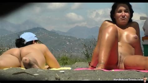 Nude Milfs Tanning Naked At Nudist Beach Eporner Free Hd