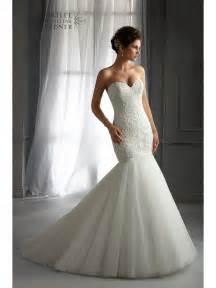 wedding guest books mori 5272 mermaid style wedding dress ivory