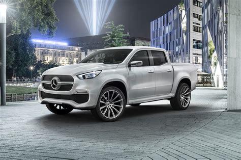 Mercedes-benz X-class Pickup Concept Debuts In Sweden