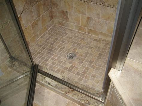 Tiled Shower Pan - bathroom showers new jersey custom tile