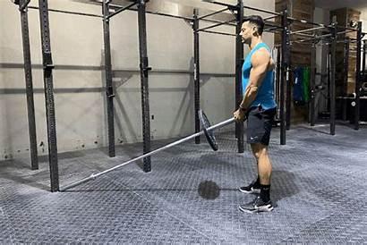 Landmine Deadlift Livestrong Gym