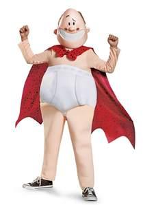 Boys Captain Underpants Deluxe Costume