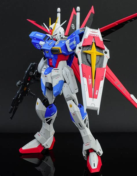 Raglan Gundam Gundam 03 gundam mg 1 100 impulse gundam painted build