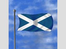National Flag Of Scotland 123Countriescom