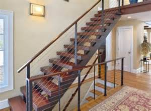floating staircase the milan staircase with black walnut stair treads the of stairs the