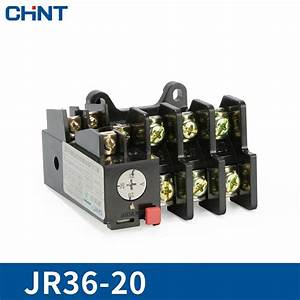 Chint Heat Relay Jr36 20 Overload Protect 220v Heat Protect Relay Heat Overload Relay