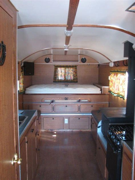 awesome cargo trailer conversion camper
