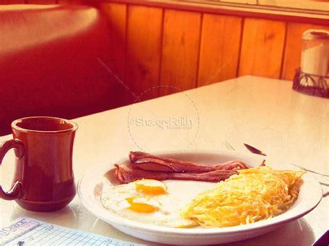 mens breakfast powerpoint template