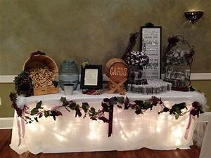 wine theme wedding gift table wedding ideas pinterest With wedding gift table ideas