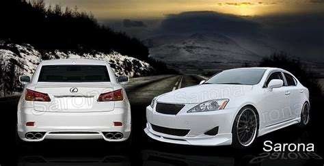 lexus is 250 custom custom lexus is 250 sedan body kit 2006 2010 1490