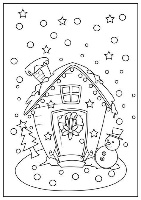 free christmas coloring pages to print wallpapers9