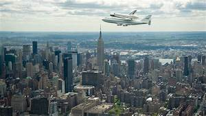 """""""in a nutshell..."""" // The space shuttle Enterprise piggy-backing on a..."""