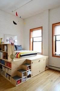 Fensterbank Zum Sitzen Bauen : grain wood furniture loft queen platform bed reviews ~ Lizthompson.info Haus und Dekorationen