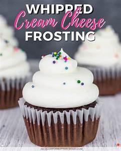 Whipped Cream Cheese Frosting - I Scream for Buttercream