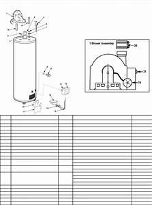 2006parts Sep Rev 5 Rheem Ruud 2009 Water Heater Parts Guide