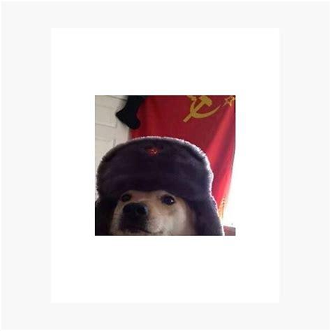 Communist Doggo Photographic Prints Redbubble