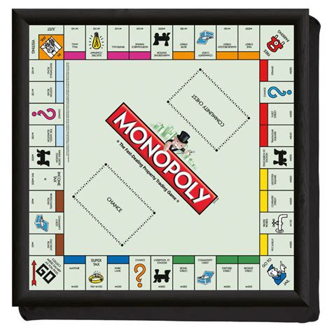 monopoly board a monopoly with real money oui but only in