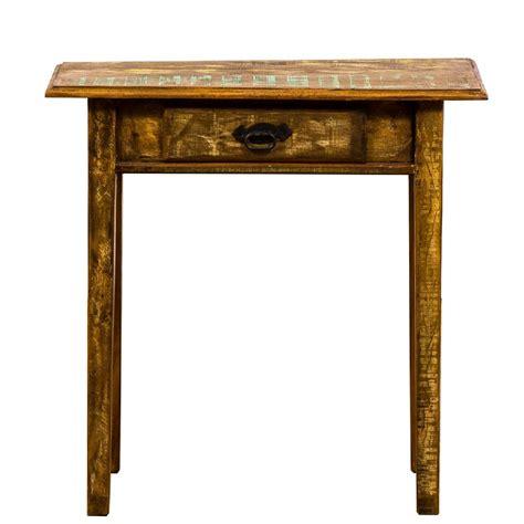 Reclaimed Wood Console Table Aptdeco